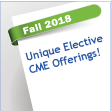 Post image for Unique Elective CME Events