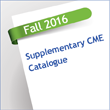 Thumbnail image for Fall Supplementary CME Catalogue