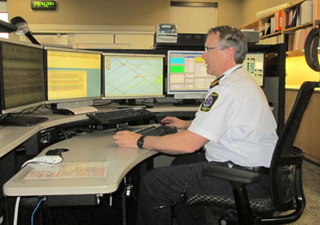 Wallaceburg CACC workstation
